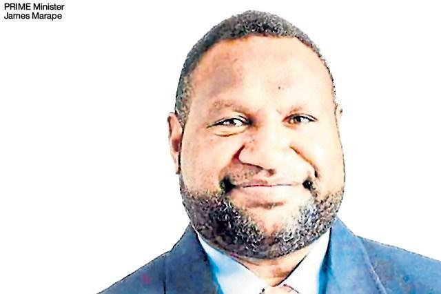 Papua New Guinea  PRIME Minister James Marape