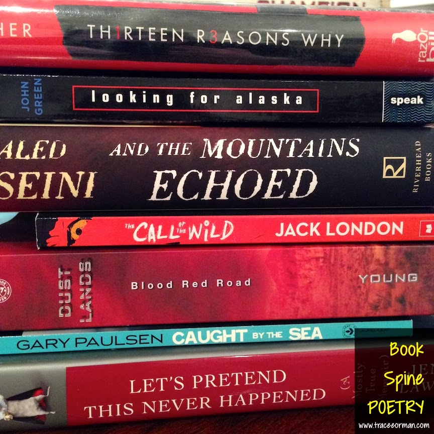 mrs  orman u0026 39 s classroom  book spine poetry  using the