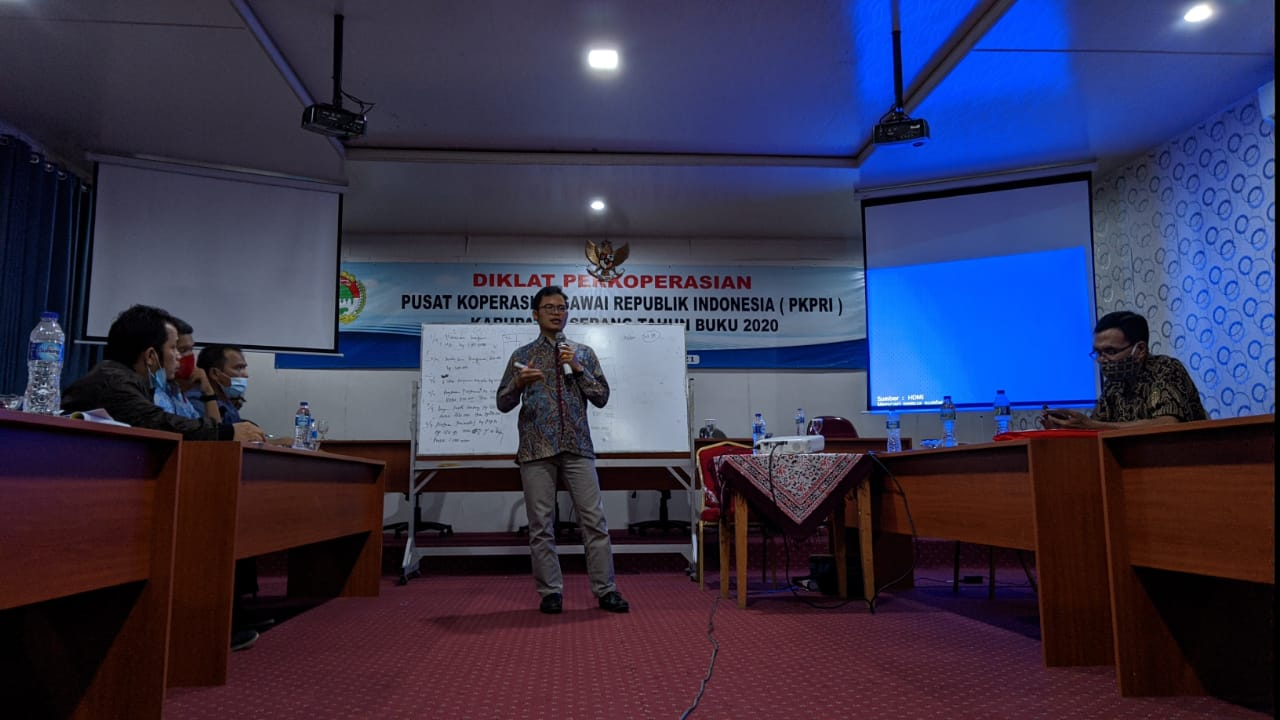 Diklat Akuntansi Koperasi PKP RI Kab. Serang