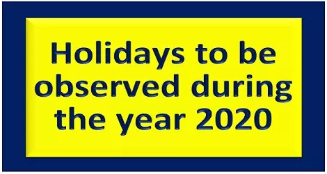 holidays-during-2020