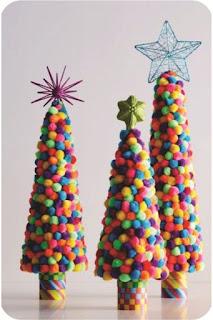 arvore de jujubas decoração enfeite de natal passo a passo