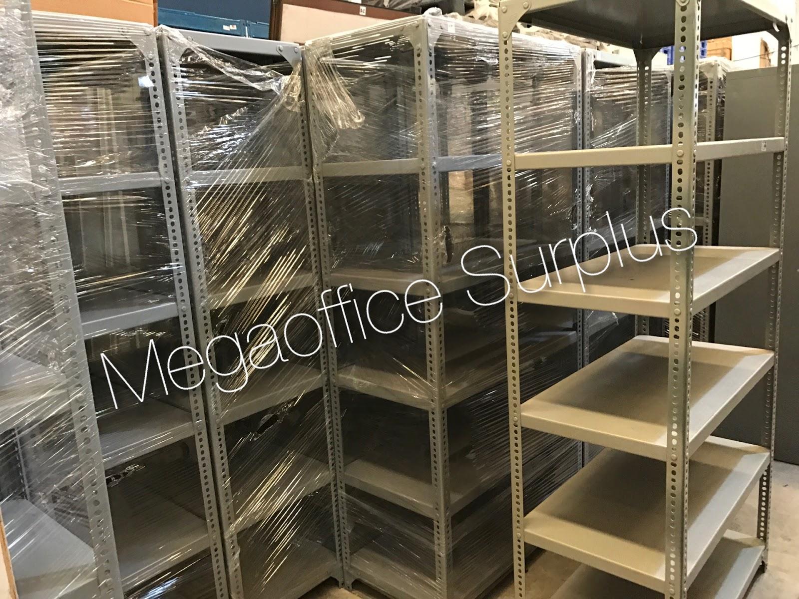 Megaoffice Surplus Philippines Used Steel Racking Shelf For Sale
