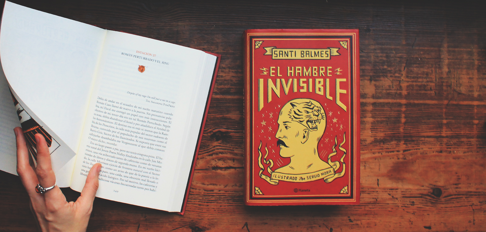 El Hambre Invisible · Santi Balmes