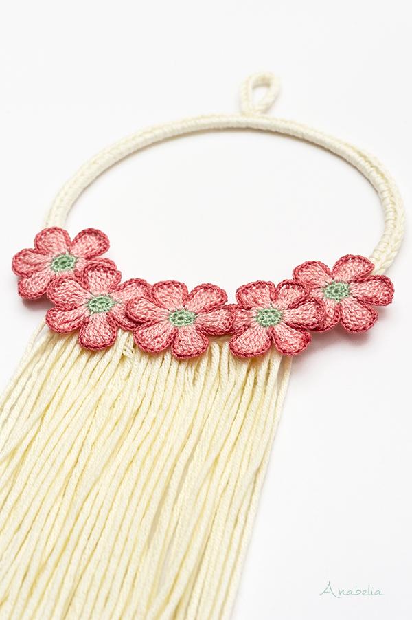 Flower wall decoration, Anabelia Craft Design