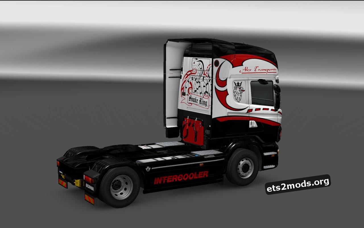 Snake King Skin for Scania RJL
