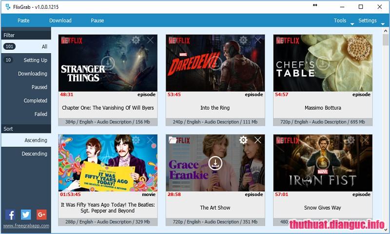 Download FlixGrab+ 1.3.4.146 Premium Full Cr@ck – Xem và Tải phim trên Netflix