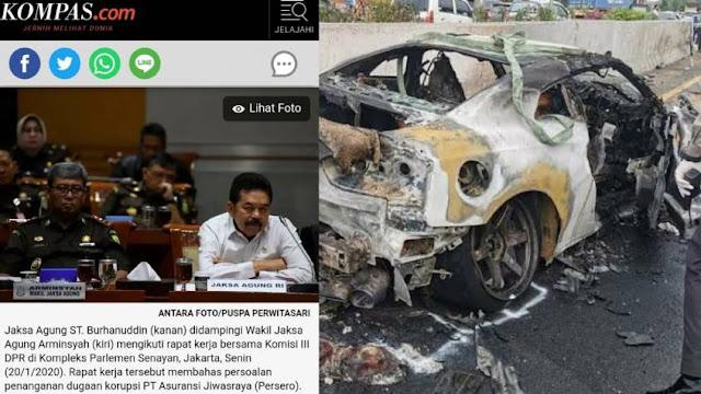 Wakil Jaksa Agung yang Mengikuti Penelusuran Korupsi Jiwasraya Tewas, Dibunuh atau Terbunuh?