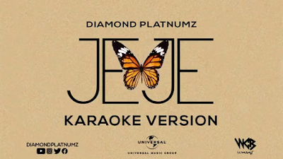 Diamond platnumz – Jeje karaoke version