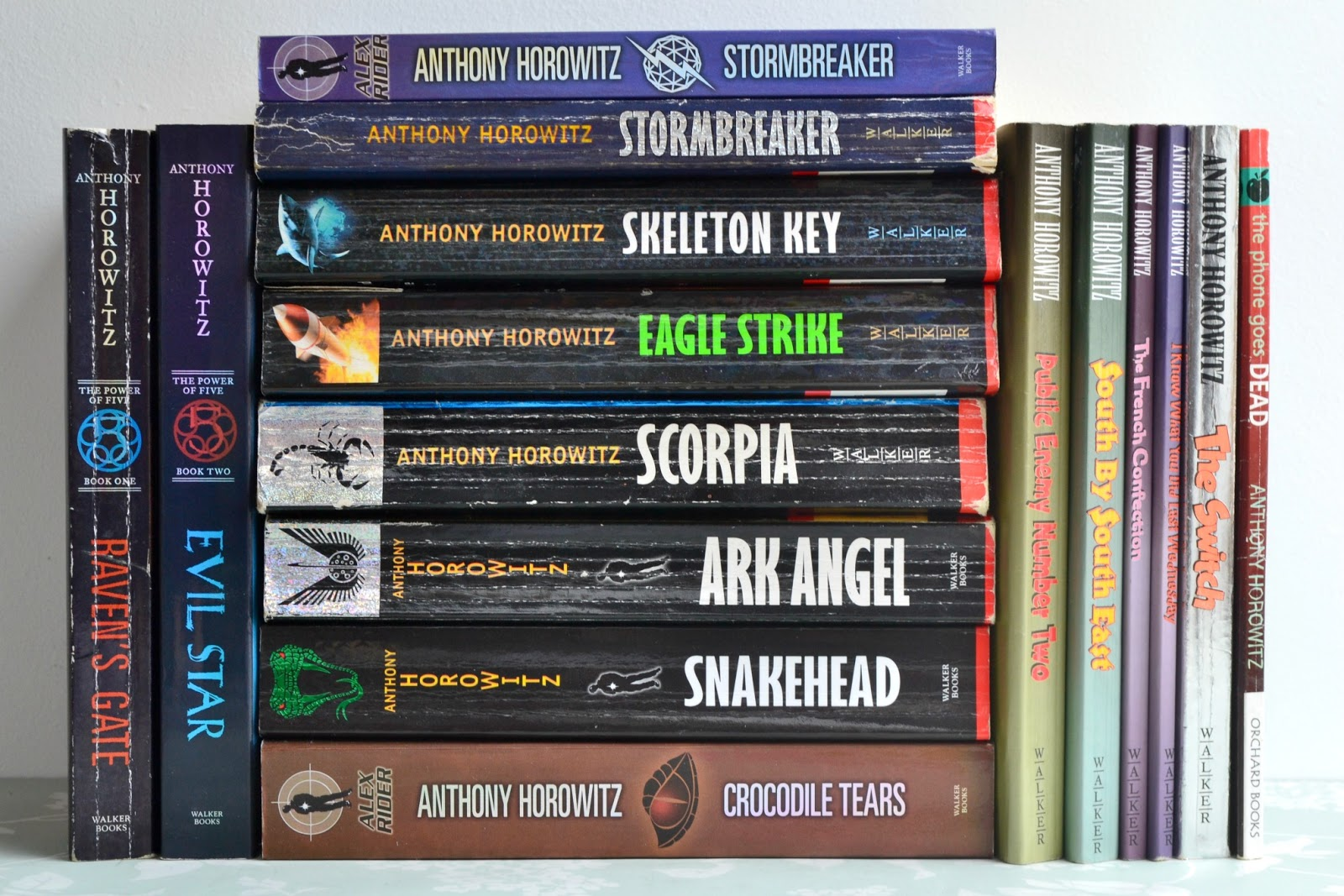 Anthony Horowitz - 15 Books