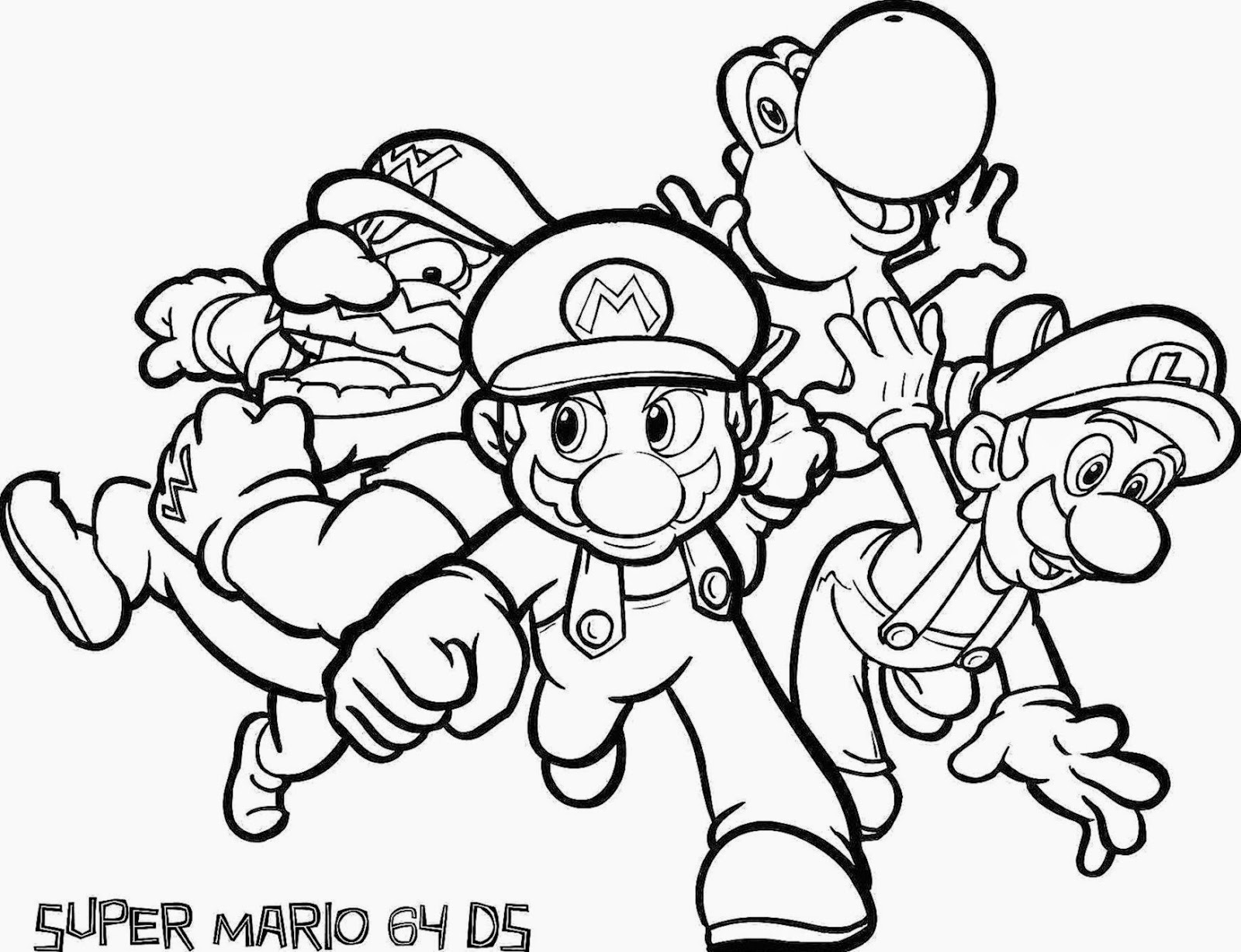 Mario coloring pages printable free   coloring