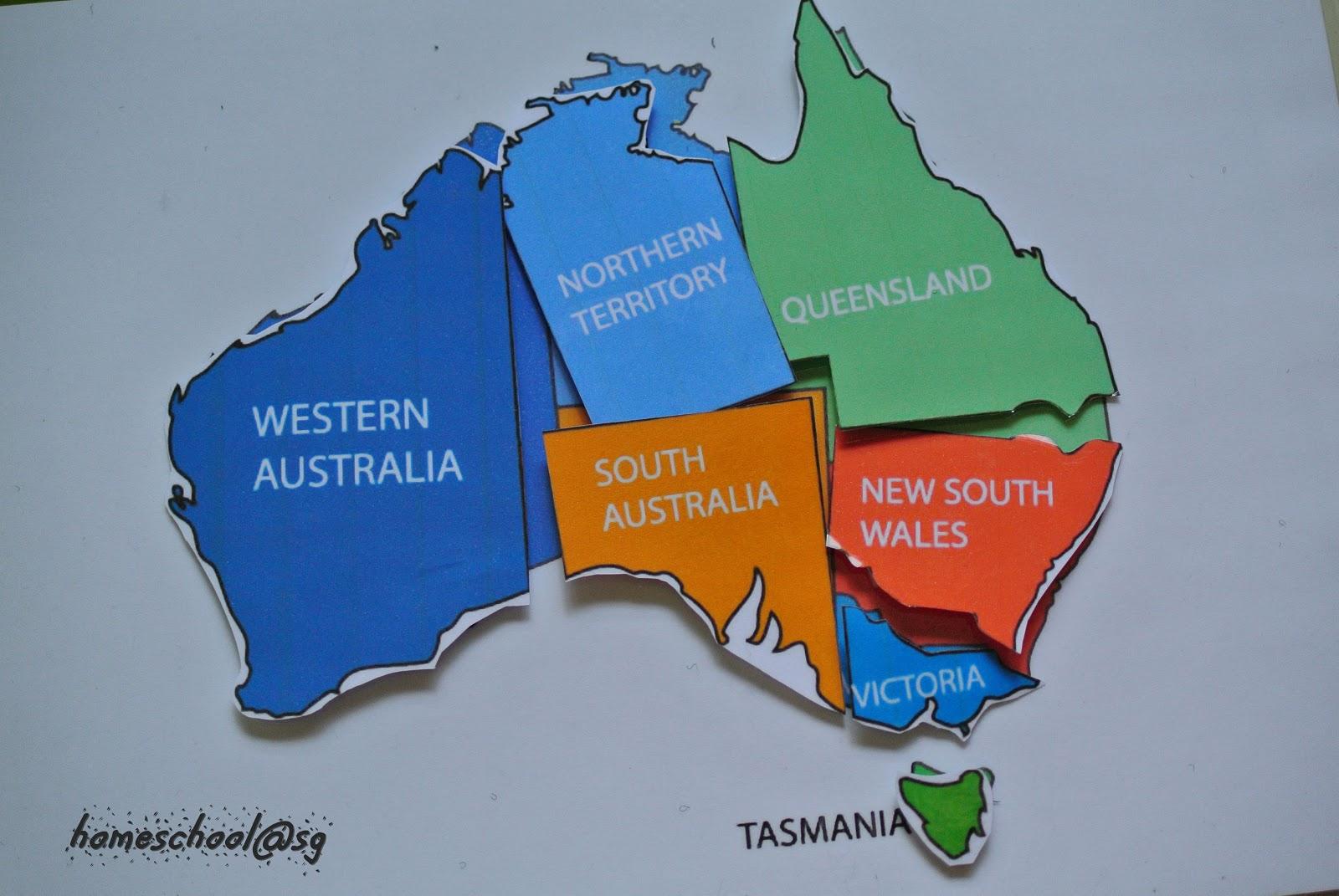 Homeschool Sg Mini Australian Unit Edited
