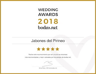 Premio Wedding Awards Jabones del Pirineo