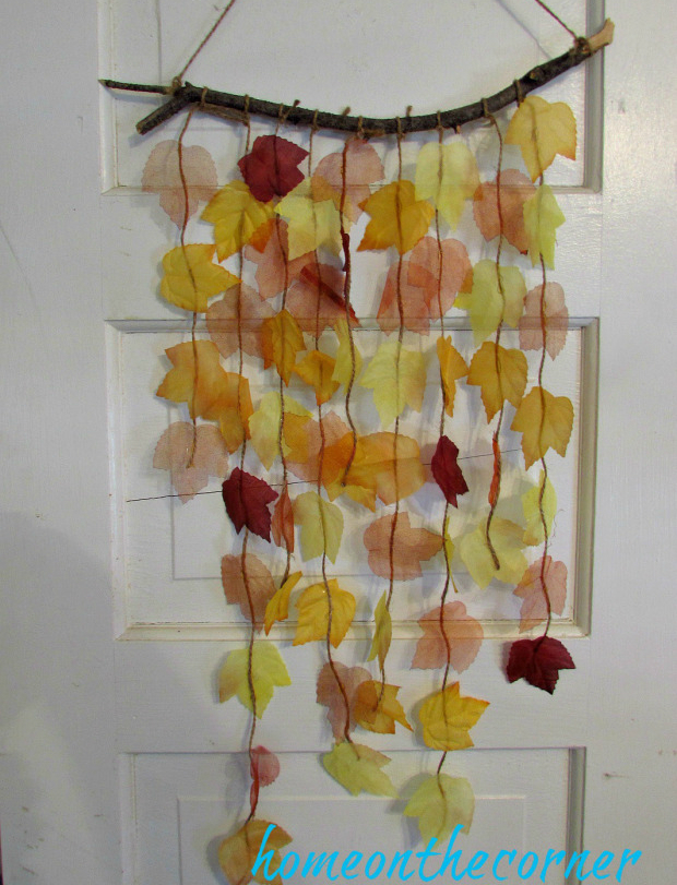 Falling Leaves Door Hanging