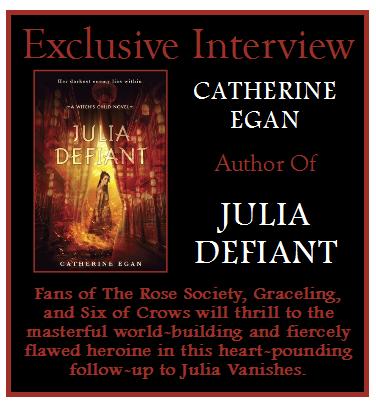 Catherine Egan Author Of Julia Defiant On Unlocking The Next Book