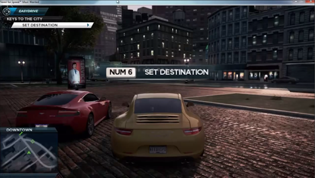 num 6 set destination need for speed most wanted