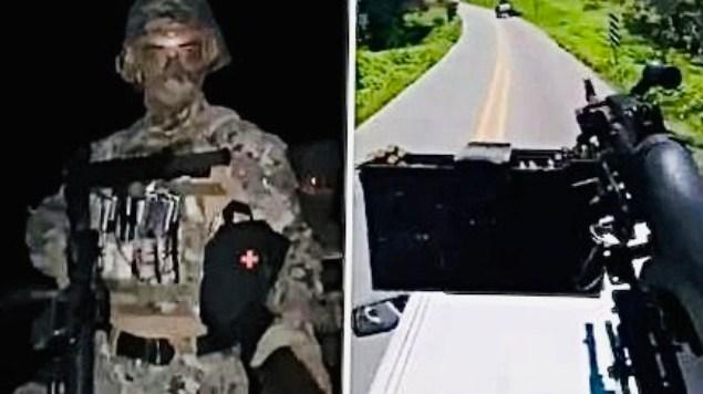 'La Furia Negra', el grupo armado que surgió para Combatir a los Narcos