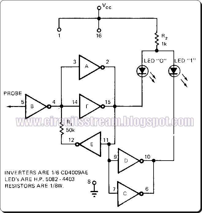 2 Led Flasher Cmos Circuit Diagram, 2, Free Engine Image