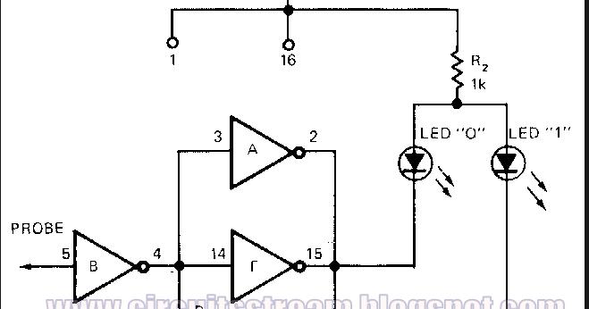 water tank level meter sensor circuit diagram