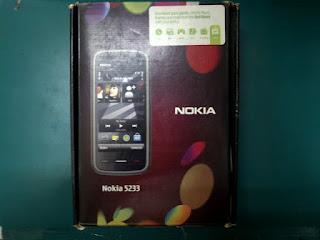 Dus Nokia 5233 Seken