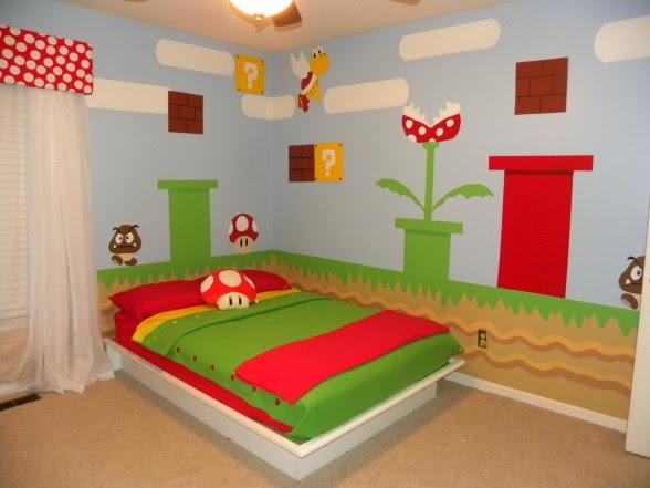 My Super Mario Boy: Bold & Colourful Mario Bedroom