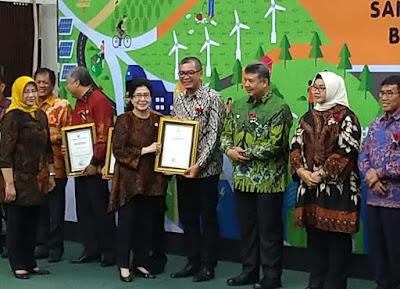 Walikota Payakumbuh Terima Penghargaan STBM Award Kemenkes