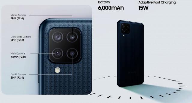 Samsung-galaxy-m12-with-quad-camera