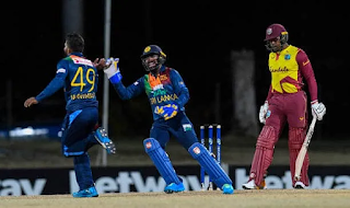 Cricket Highlightsz - West Indies vs Sri Lanka 2nd T20I 2021 Highlights