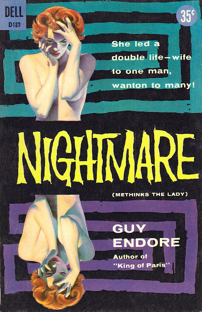 Image result for nightmare guy endore pulp covers