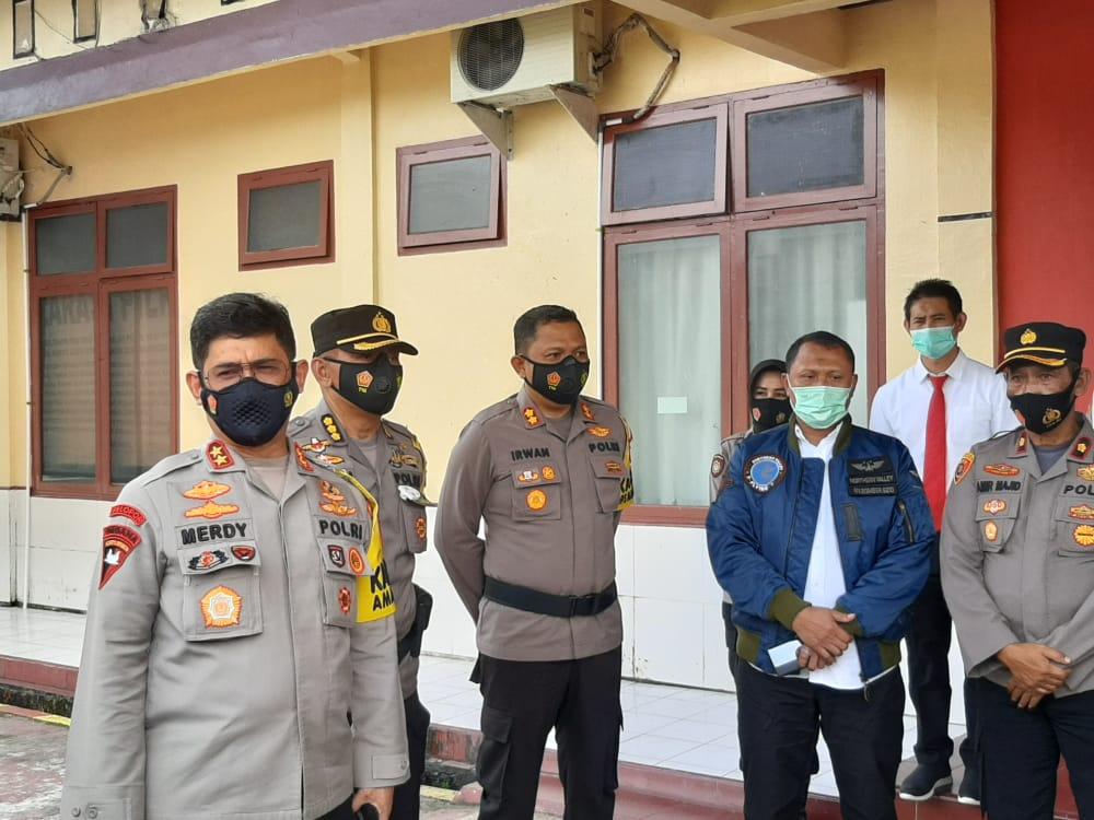 Kunjungi KPU Luwu Utara, Kapolda Sulsel Minta Pilkada Tetap Patuhi Prokes