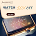 Instagram 50% off watch store social banner