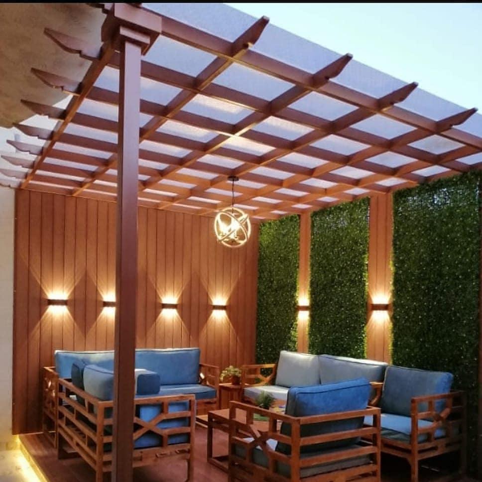 شركة تنسيق حدائق تنسيق - حوش أستراحة بالرياض تصميم حدائق الرياض والرياض
