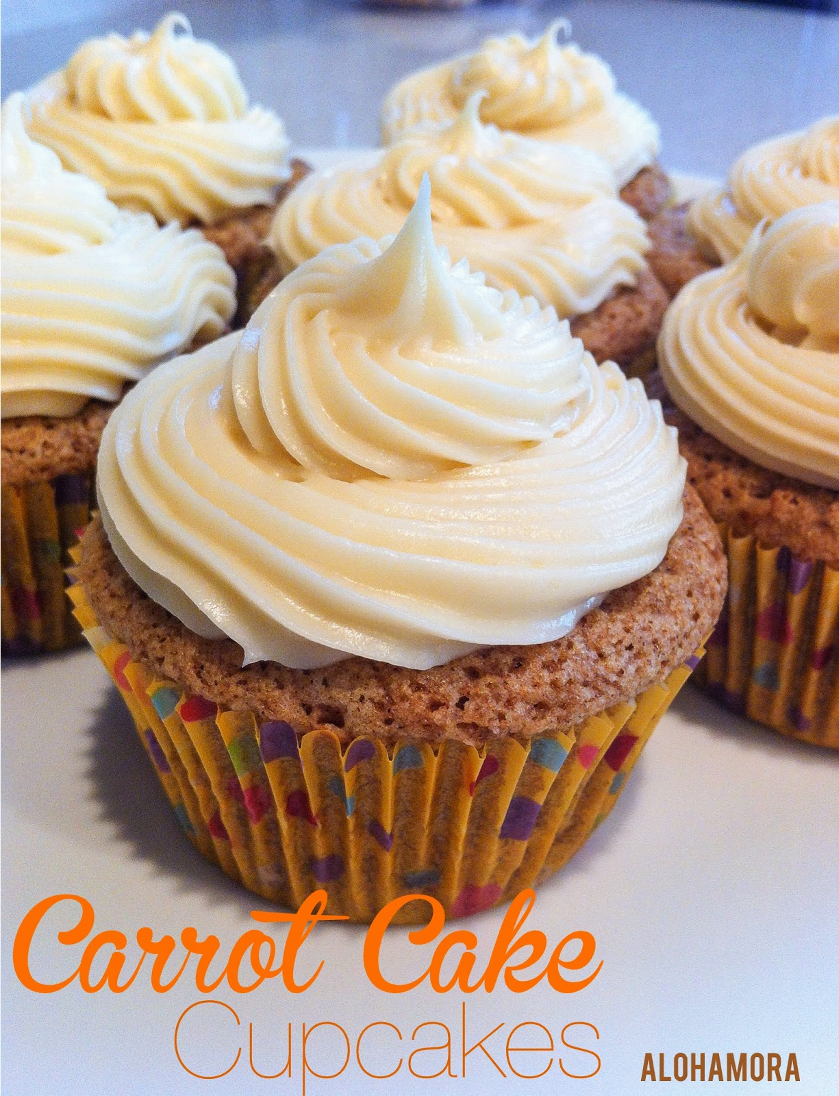 Absolutely delicious carrot cake cupcakes from scratch.  Not too bad if you substitute applesauce too Alohamora Open a Book http://alohamoraopenabook.blogspot.com/