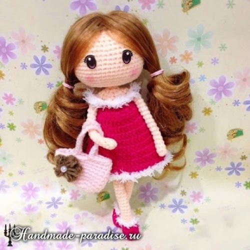 Amigurumi Sweet Doll - Free Pattern