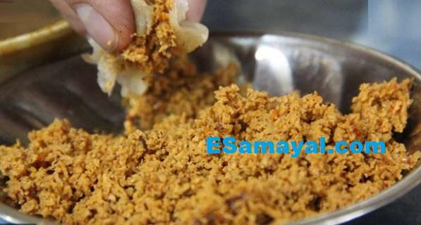 கீமா சன்னாதால் - கொத்துக்கறி கடலைபருப்பு செய்வது | Keema sannatal - Salamis Bengal gram dal !