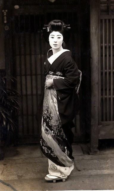 Японская гейша живущая в США (20 фотографий)