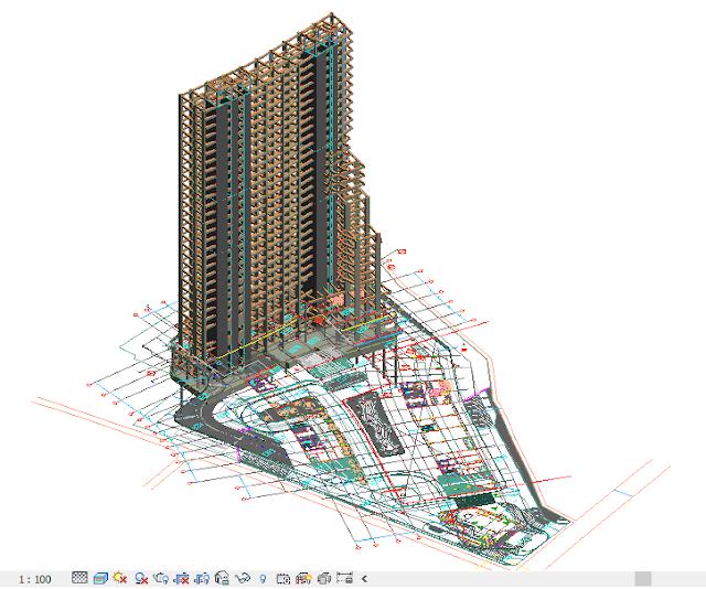 louvin-project-apartemen-pakai-revit