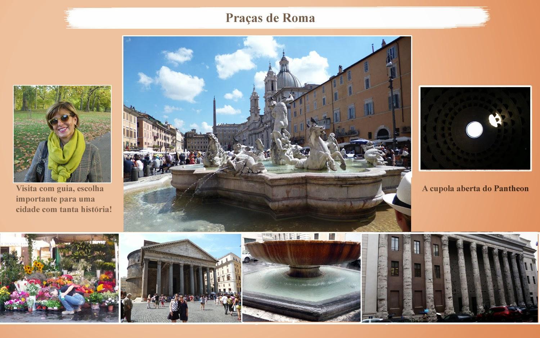 Guia de Turismo: conheça as Praças de Roma