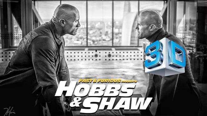 Rápidos y furiosos: Hobbs & Shaw (2019) 3D SBS Full 1080p Latino-Castellano-Ingles