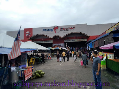 Padang Waremart - tempat shopping