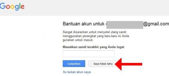 Cara mengatasi lupa password login akun google email gmail