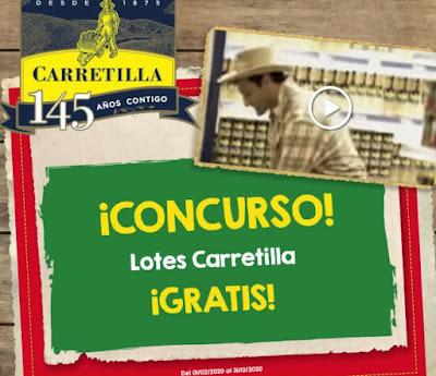 Carretilla sortea 14 packs de sus productos