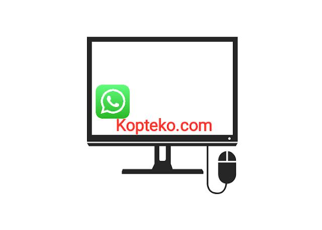 WhatsApp Blank Putih di PC