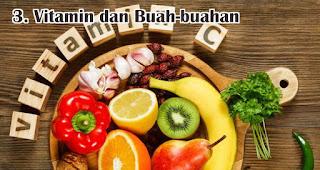 Vitamin dan Buah-buahan adalah benda yang wajib kamu bawa selama new normal