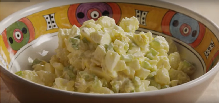 The potato salad that is best served cold.