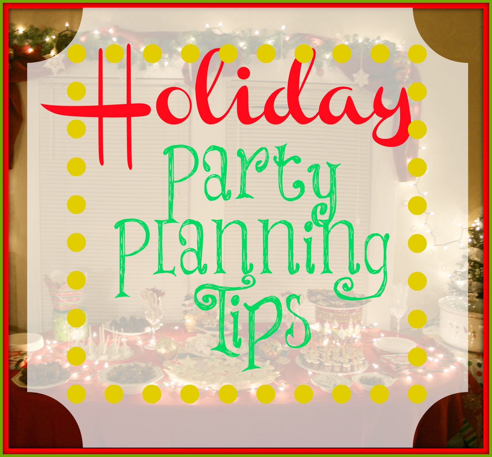 Planning Christmas Party