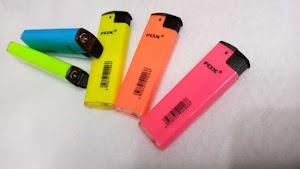 Korek Api Bara Gas Premium warna ngejreng