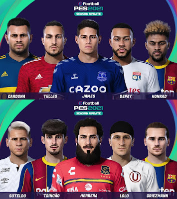PES 2021 Facepack Vol 5 by Yeshua
