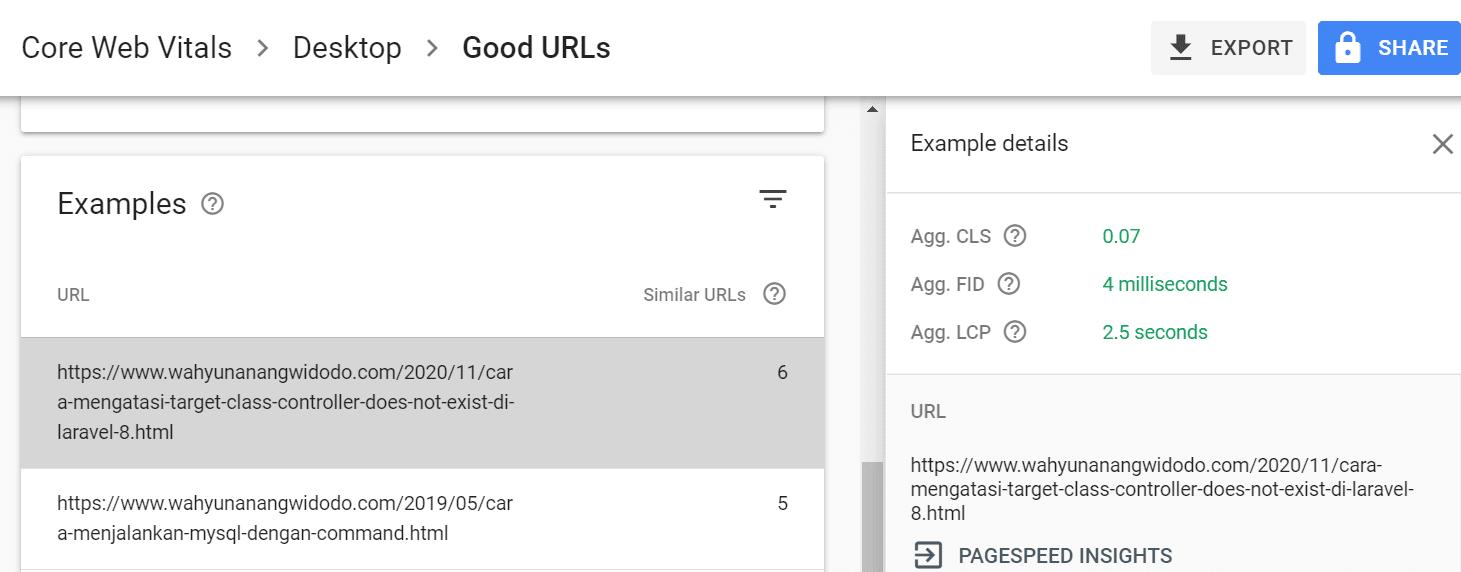Google Lighthouse - 'Sempurna'