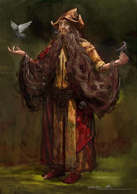 Of Hobbit Paul Tobin' Concept Art