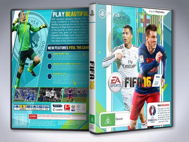 Capa Fifa 16 PS4